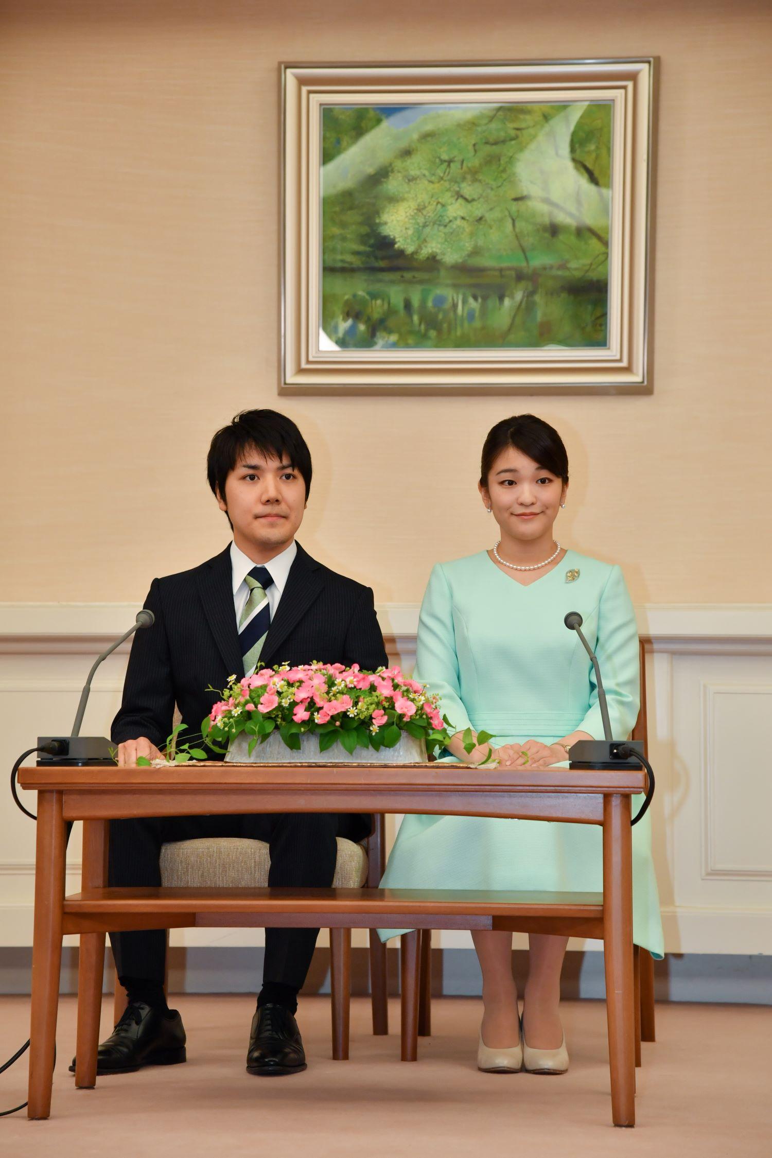 眞子さまと小室圭さん写真:日本雑誌協会代表取材
