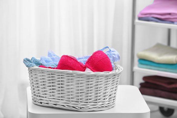 洗濯機で洗っても型くずれの心配がないブラ