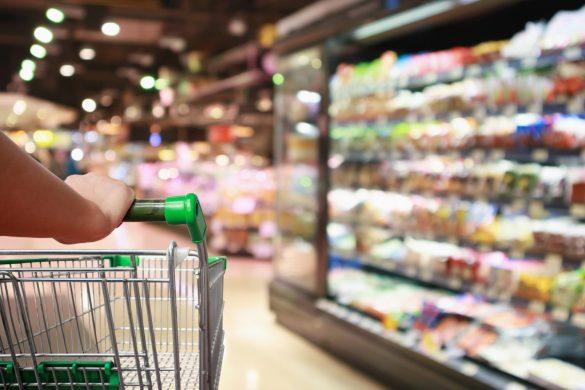 スーパーマーケット、食料品、買い物、日常生活