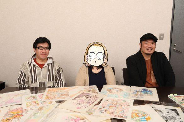 左から、少女マンガ研究家・小田真琴さん、マンガ家・松苗あけみ先生、マンガ家・きたがわ翔先生。