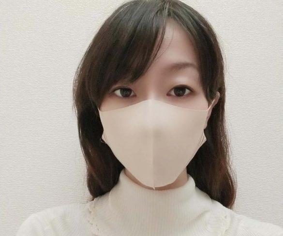 小顔シルエットマスク