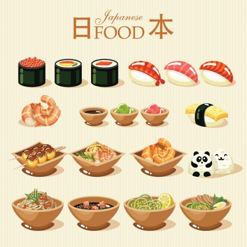 海外の日本食イメージ