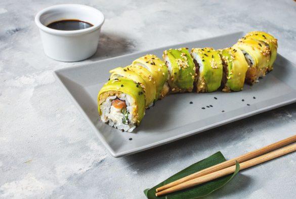 ドラゴンロール 寿司