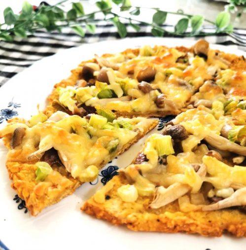 オートミールのピザ
