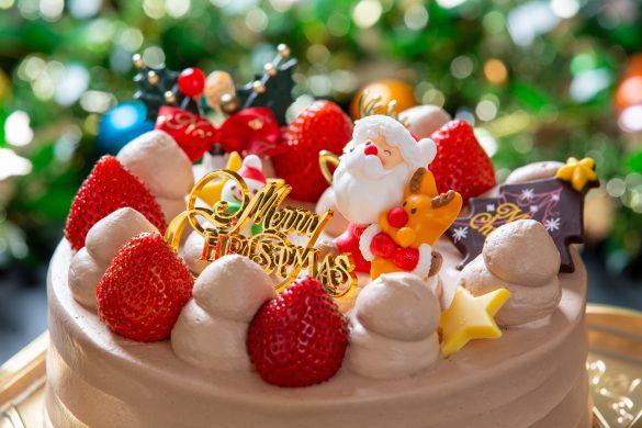 クリスマスケーキは毎年ホールで