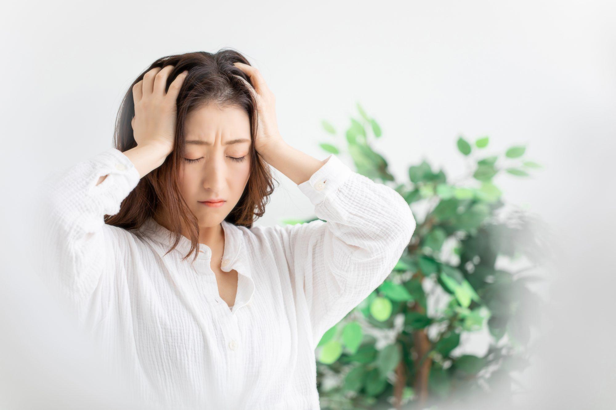ストレスを受けると、胃の働きが悪くなる