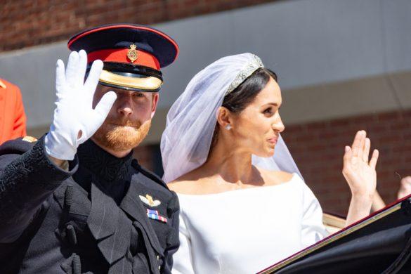 ヘンリー王子のメーガン妃