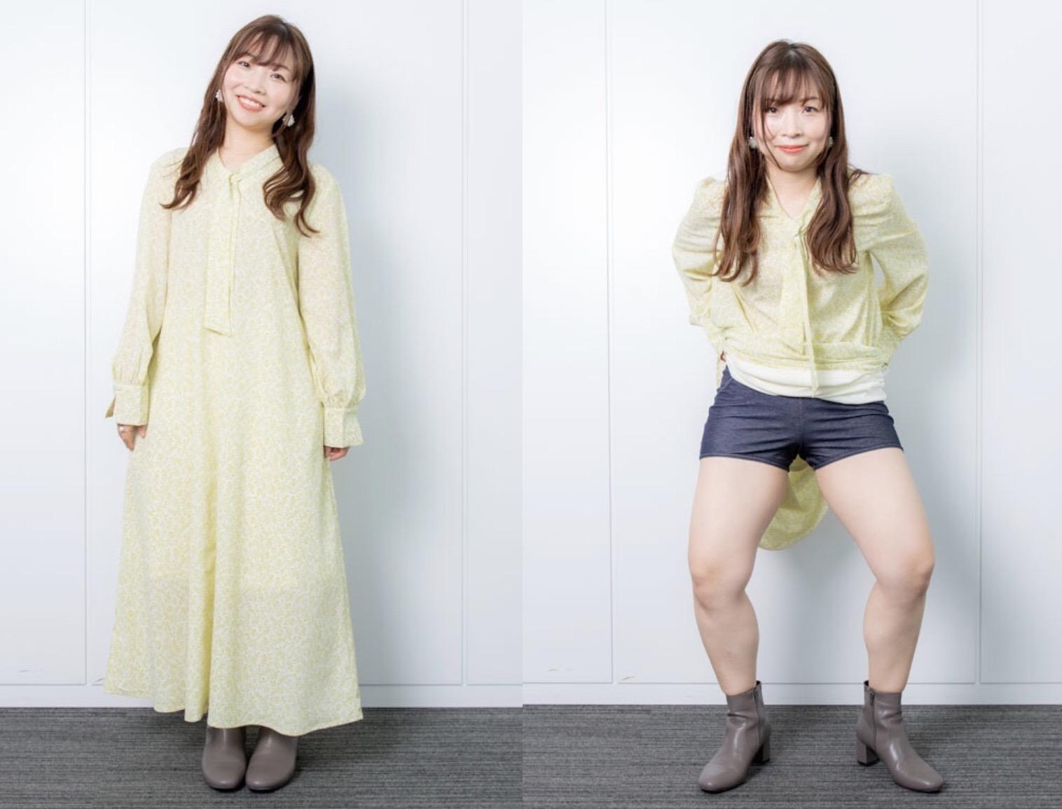 ぽちゃかわ芸人・石出奈々子の「痩せ見えコーデテク」がスゴすぎっ