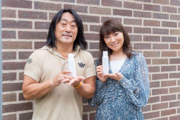 (左)中嶋竜司さん(右)加藤綾菜さん