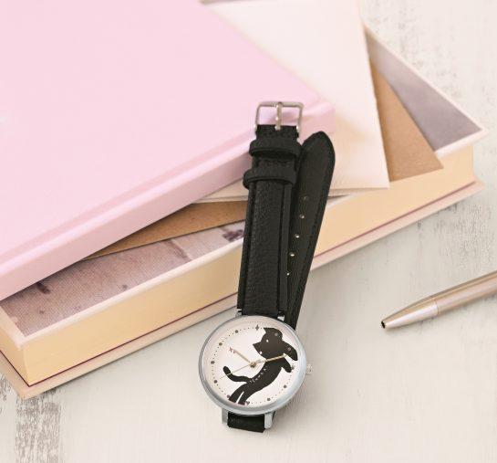 クックパッド プラス 2021年冬号の特別付録『ツモリチサト キラネコの腕時計(電池つき)』