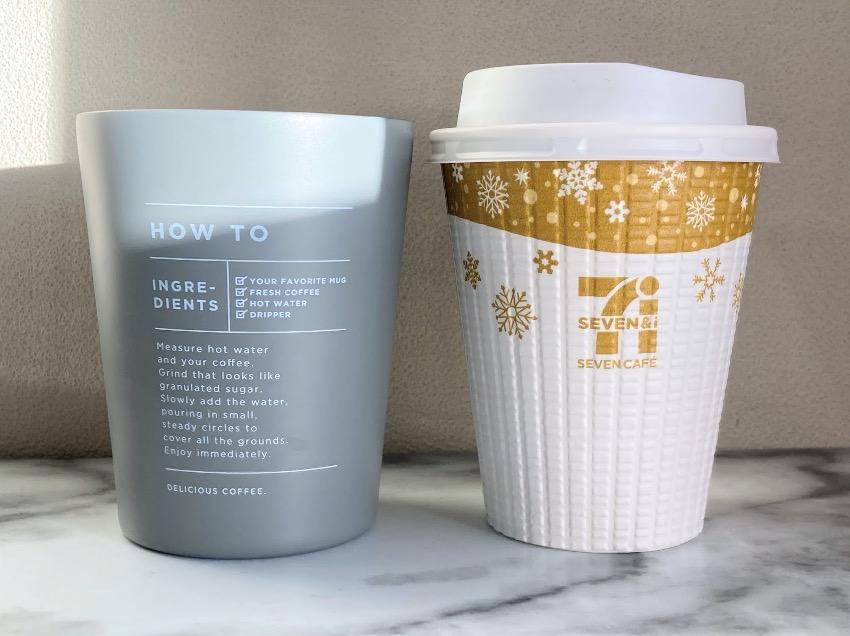 コンビニコーヒーの対応サイズ