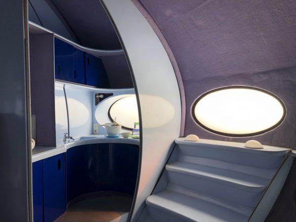 フィンランド製UFO型住宅フトゥロ