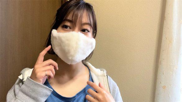 マスク単体で見れば可愛いけど