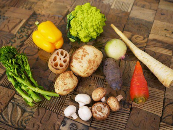 冬の栄養野菜