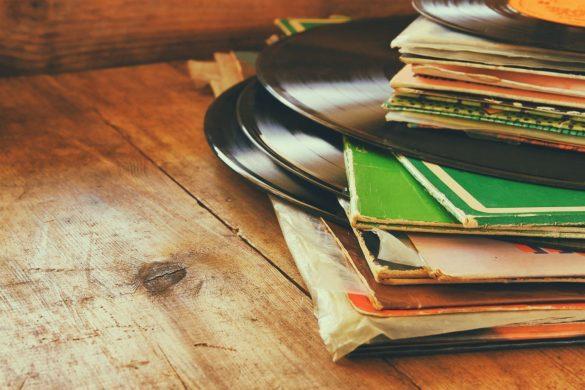 レコード、音楽雑誌
