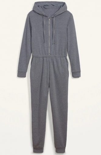 Cozy Zip-Front Hoodie Jumpsuit for Women(画像:オールドネイビー オンラインストアより)