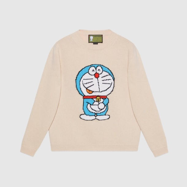 DORAEMON × GUCCI ウールセーター