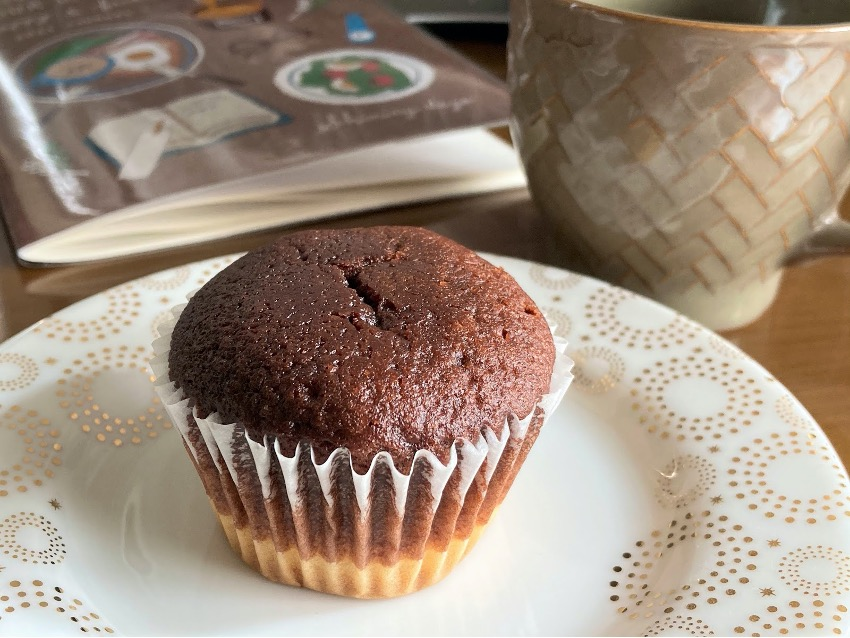 無印良品の生チョコケーキがおいしい