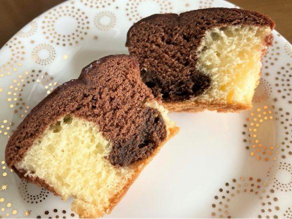 冷蔵庫で半日冷やした生チョコケーキ