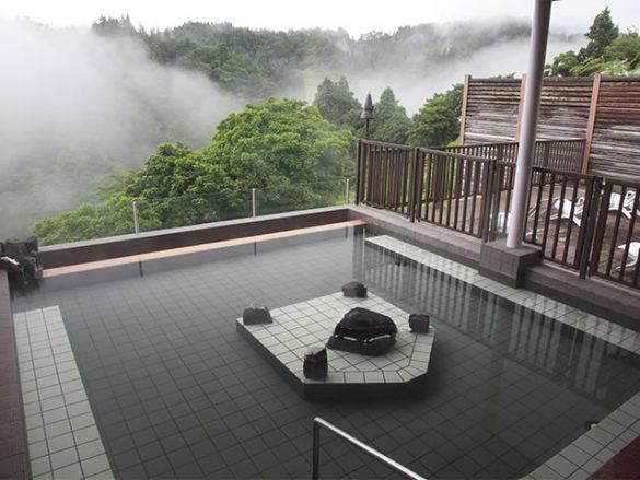 ナステビュウ湯の山 露天風呂(女性)