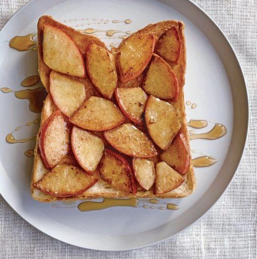 ☆モザイクりんごのシナモントースト