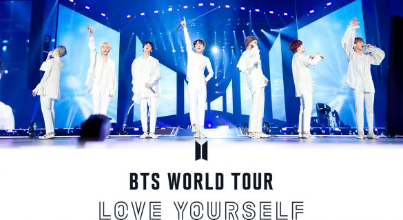 BTS WORLD TOUR _LOVE YOURSELF_ ~JAPAN EDITION~ at 東京ドーム