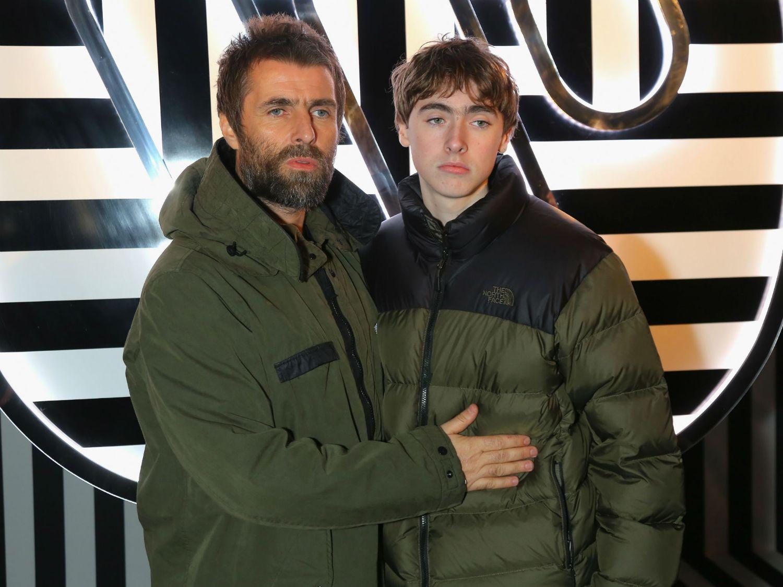 リアム・ギャラガーと息子のレノン
