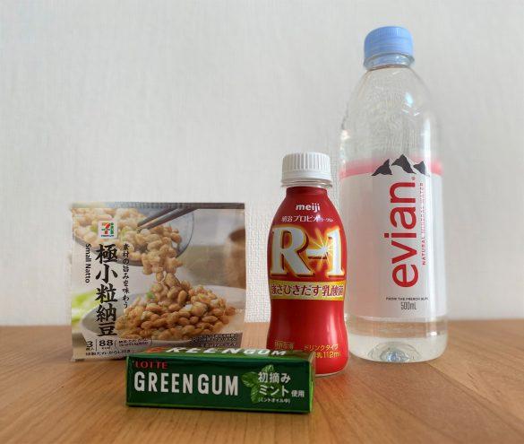 唾液力を高める食べ物・飲み物の例
