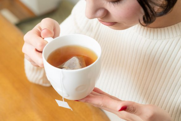 無印良品の「穀物のお茶 はと麦&レモングラス」