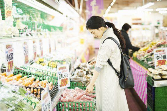 買い物 野菜 スーパー