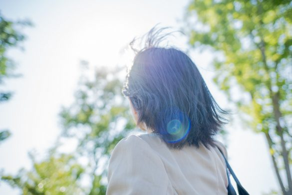 髪と紫外線