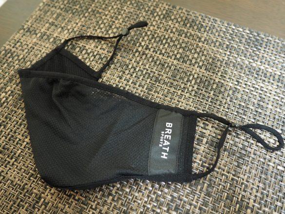 「ブレススポーツ」はメッシュ素材のマスク