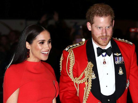 ヘンリー王子とメーガン妃夫妻