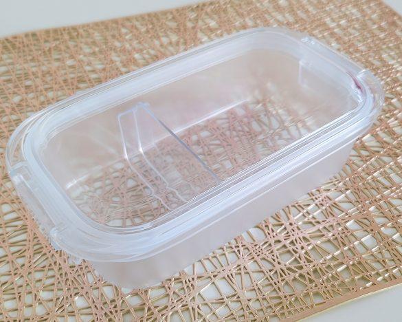 無印良品「バックル付き弁当箱 約500ml」(税込1290円)