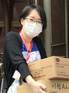 ハピママメーカープロジェクトを運営する石川菜摘さん