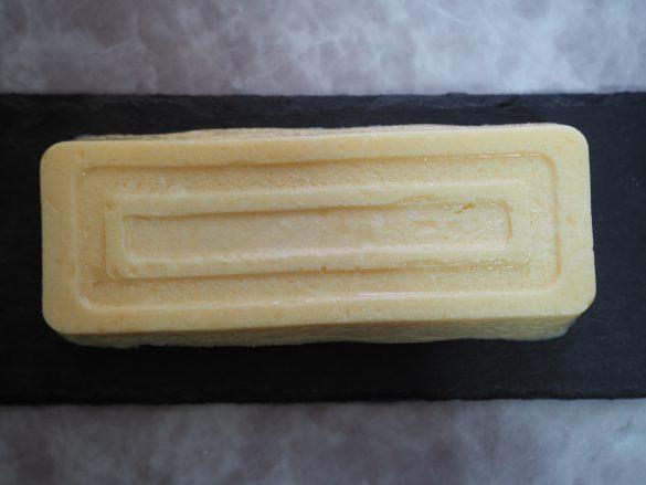 完成した豆腐のレアチーズケーキ