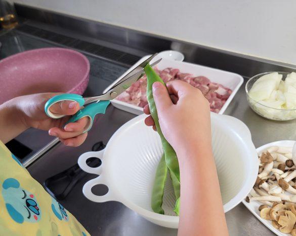 食材を切る方法は包丁だけではない