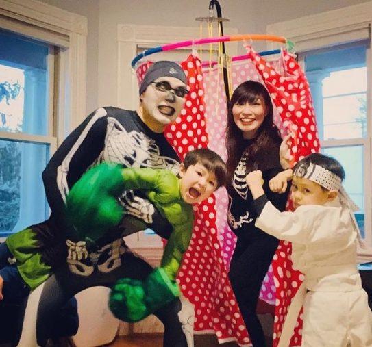 内田さんと家族