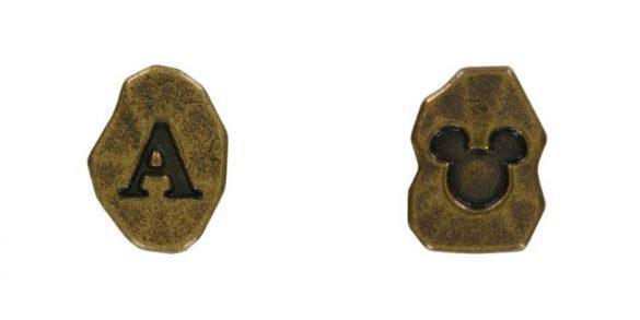 クリスタルスフィアのパーツ「アルファベットパーツ」/各120円